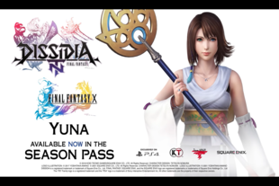Yuna, de Final Fantasy X, ya está disponible en Dissidia Final Fantasy NT