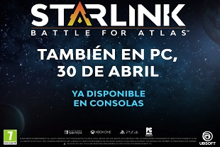 Starlink: Battle for Atlas llegará a PC el próximo 30 de abril