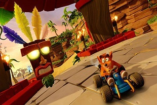 Crash Team Racing Nitro-Fueled muestra gameplay del modo Aventura
