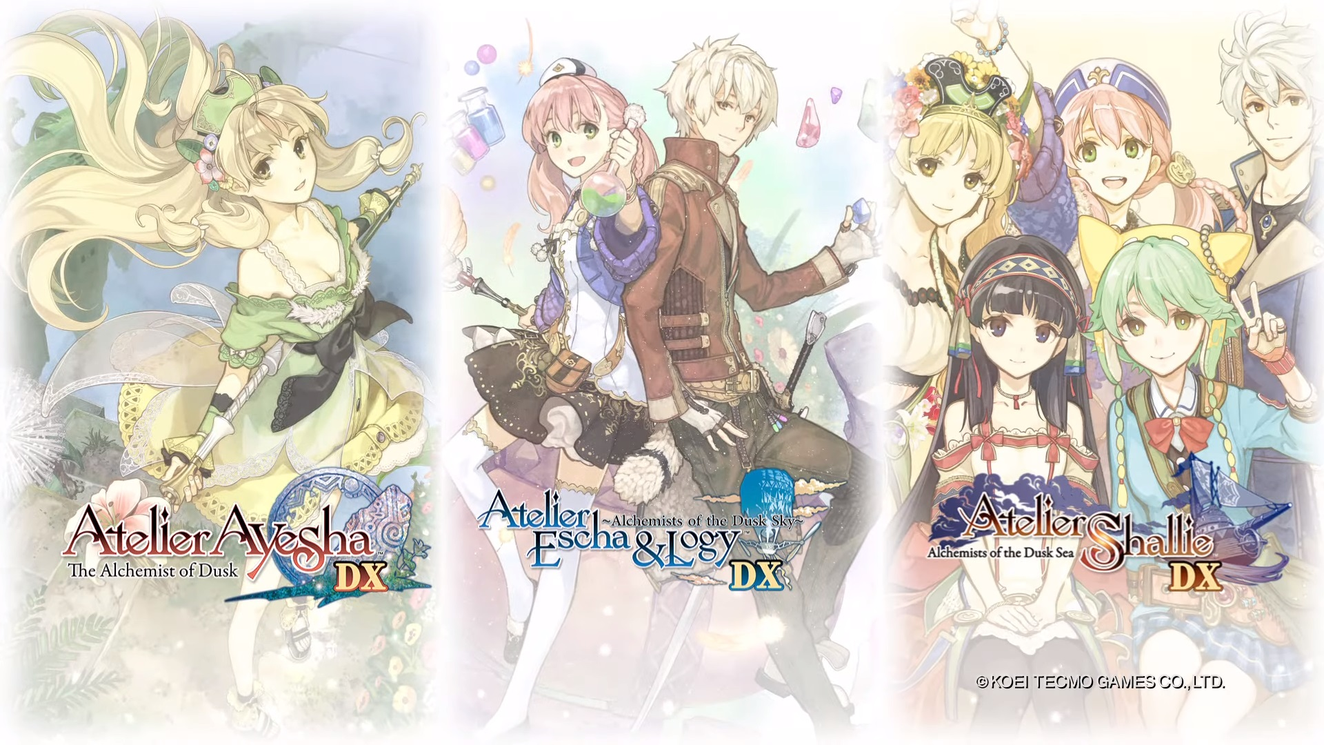 TGS 2019: Anunciado Atelier Dusk Trilogy Deluxe Pack