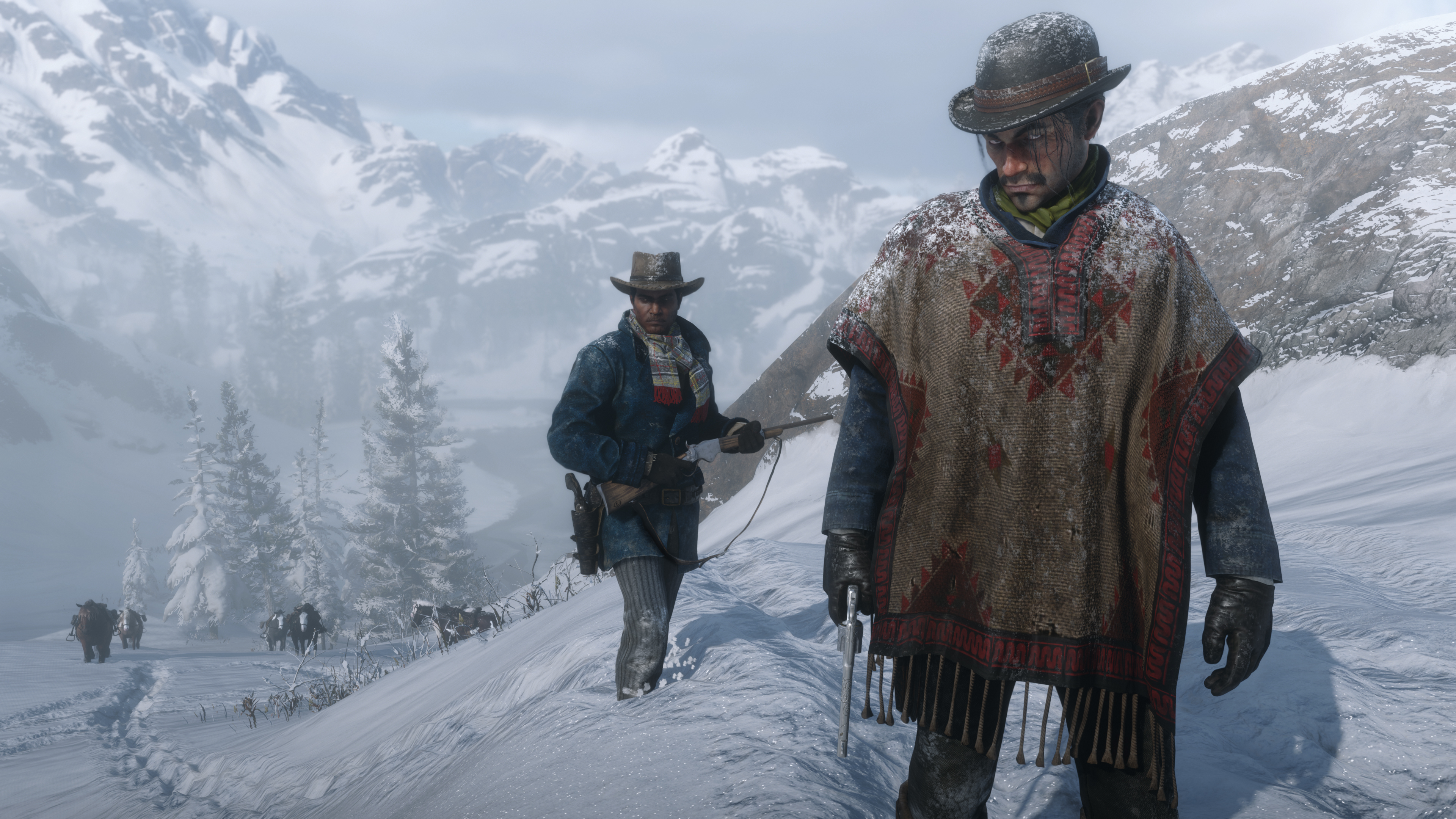 Red Dead Redemption 2 para PC se deja ver en un nuevo vídeo con resolución 4K y 60FPS