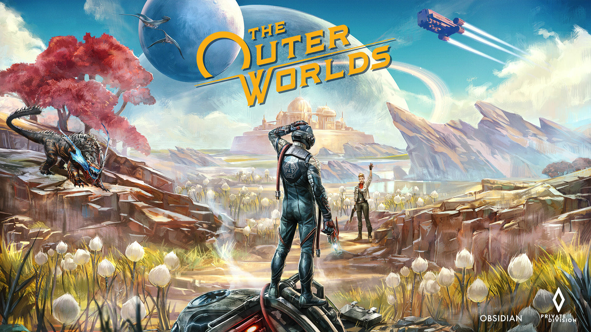 The Outer Worlds se actualiza a la versión 1.1.1.0, por fin es legible