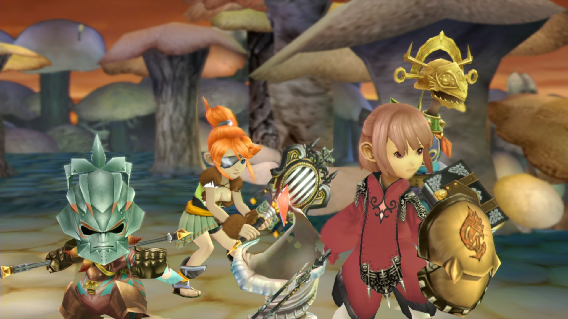 Final Fantasy Crystal Chronicles Remastered sufre un retraso hasta verano de 2020