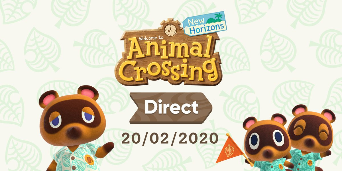 Animal Crossing New Horizons presentará mañana un Nintendo Direct
