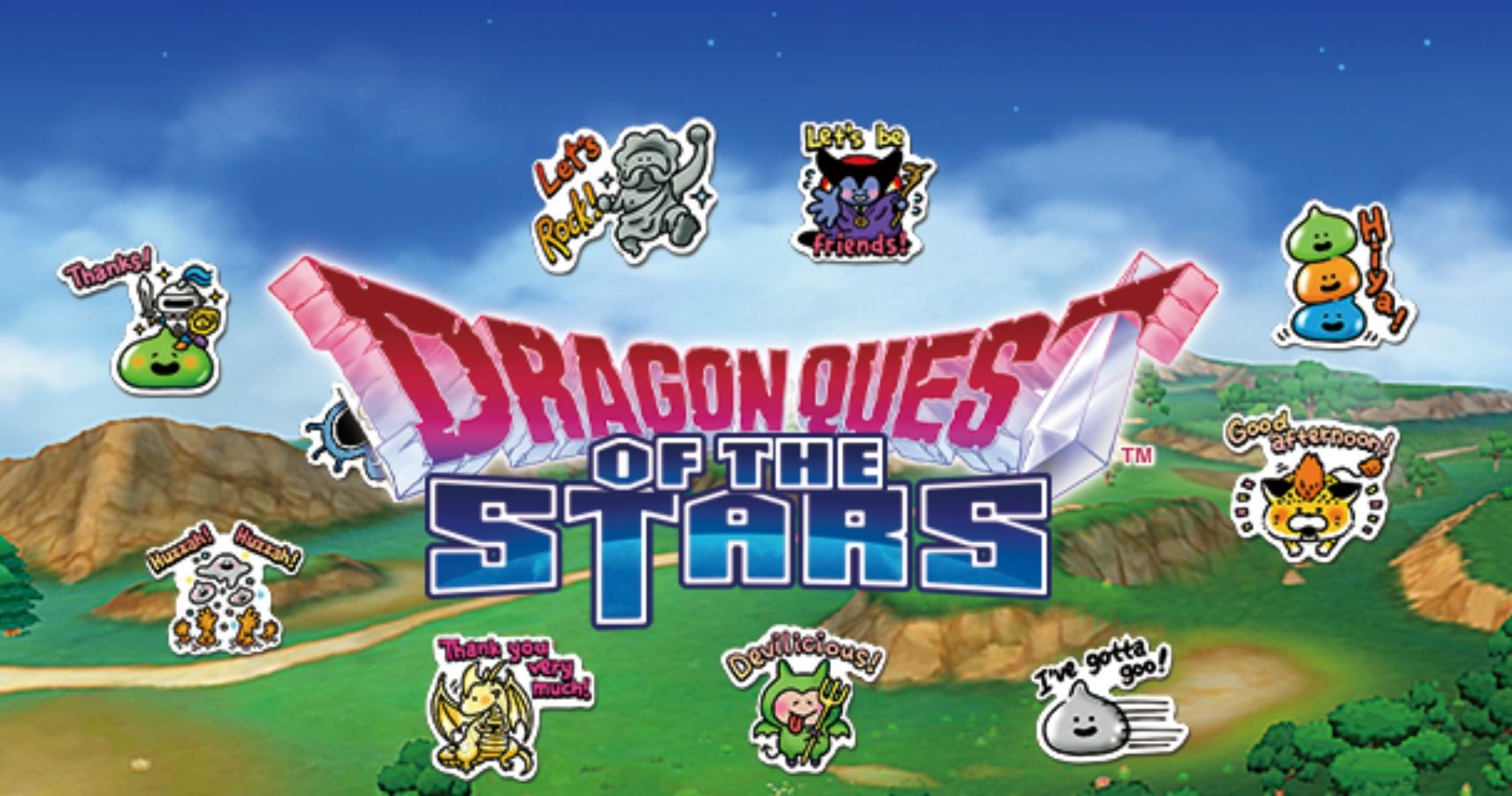 Ya se puede descargar Dragon Quest of the Stars para iOS y Android