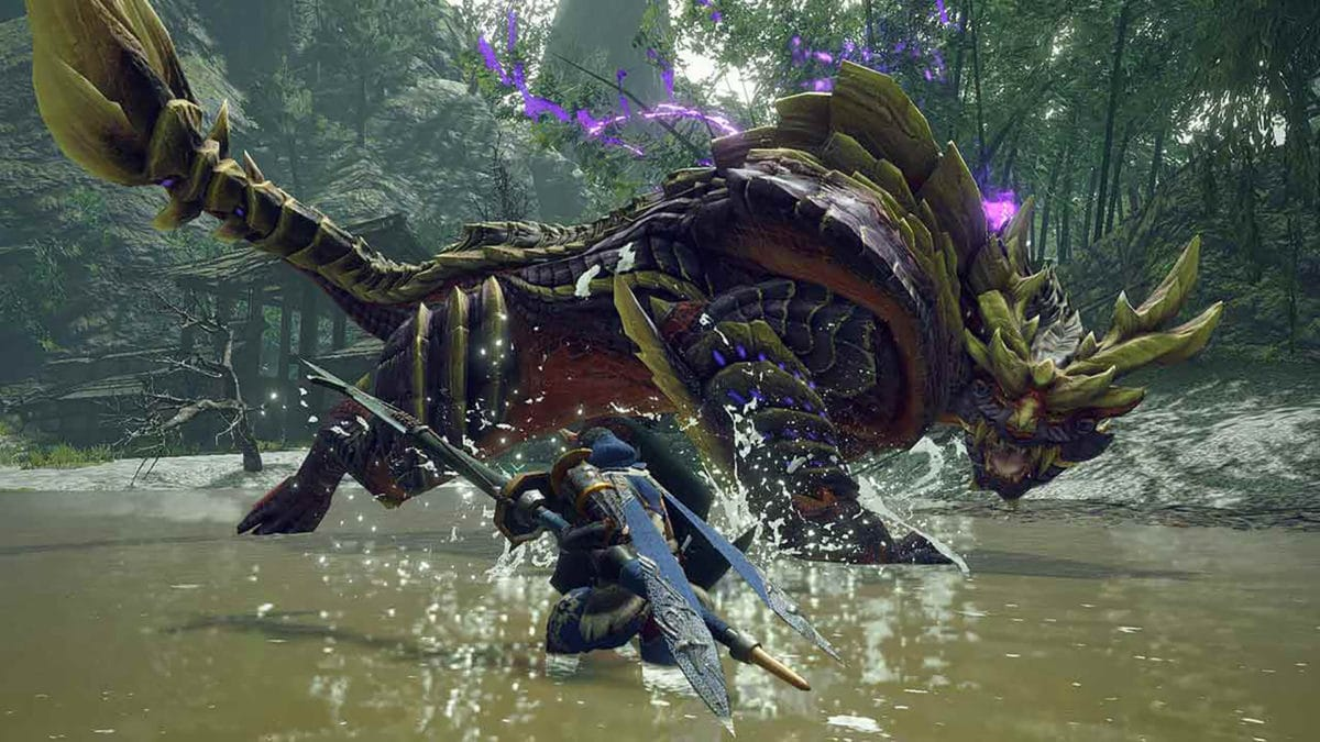 Monster Hunter Rise está siendo desarrollado con el RE Engine para Switch